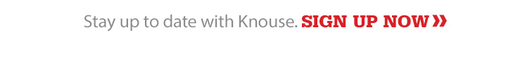 Stay up to date with Knouse.