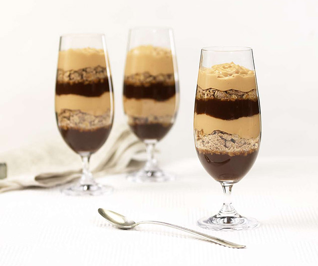 Apple Butter & Pudding Parfaits