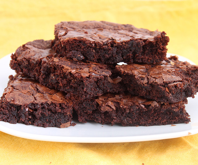 Moist and Fudgy Apple Sauce Brownies
