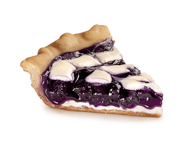 Stuffed Crust Blueberry Lime Pie