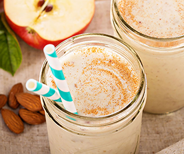 Apple Smoothies with Variations