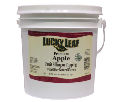 Premium Clean Label Apple Fruit Filling or Topping - 9.5 lb Pail