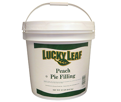 Peach Fruit Filling or Topping - 19 lb Pail