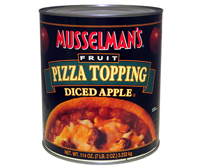 Diced Apple Pizza Topping - 114 oz.