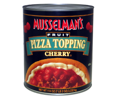 Pizza Topping: Cherry - 114 oz.