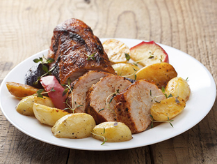 Caraway Pork & Apples