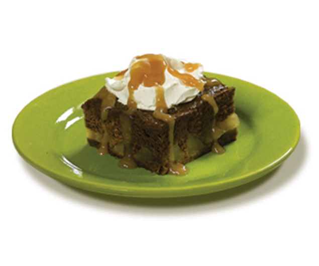Caramel Apple Gingerbread