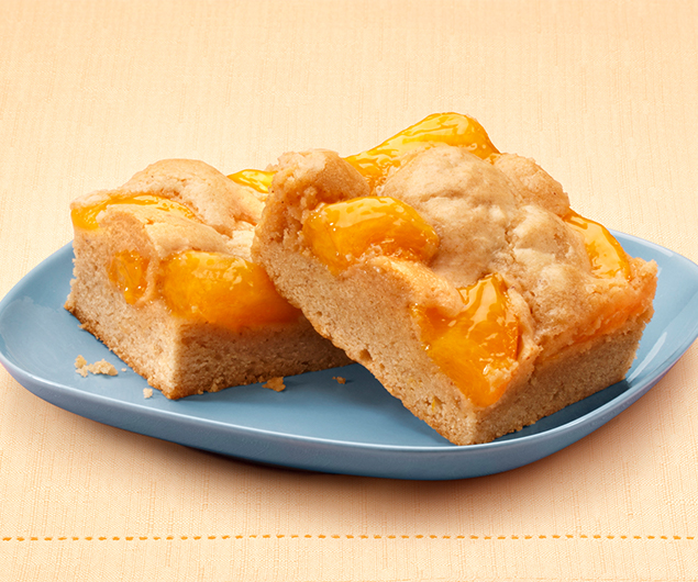 Just Peachy Pie Bars