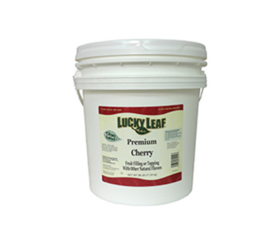 Clean Label Cherry Fruit Filling or Topping - 38 lb Pail