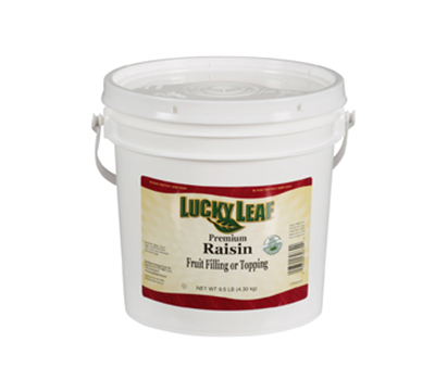 Clean Label Raisin Fruit Filling or Topping - 9.5 lb Pail
