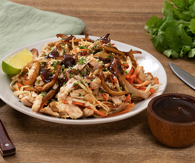 Asian Chicken Salad with Apple Butter Dressing