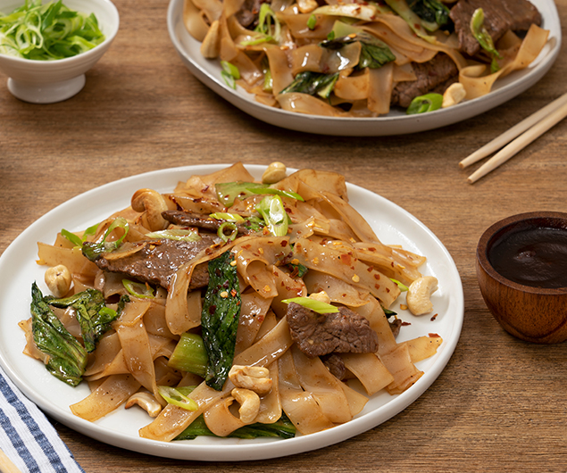 Apple Butter Stir-Fried Noodles